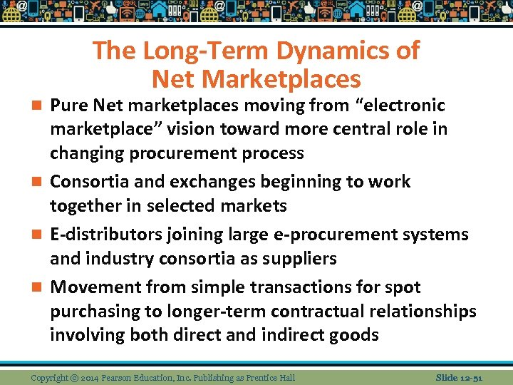 """The Long-Term Dynamics of Net Marketplaces Pure Net marketplaces moving from """"electronic marketplace"""" vision"""