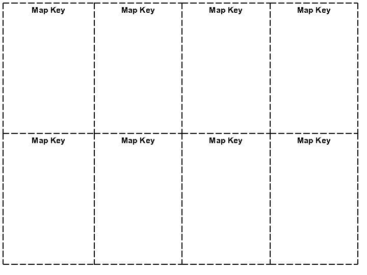 Map Key Map Key