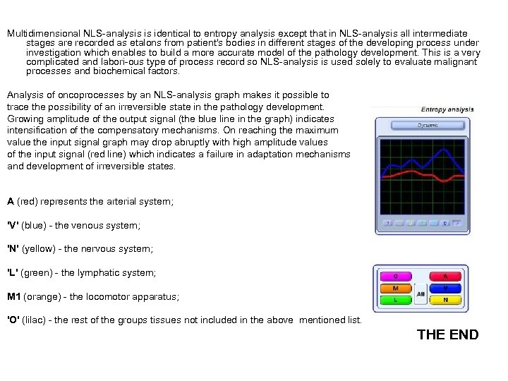 Multidimensional NLS-analysis is identical to entropy analysis except that in NLS-analysis all intermediate stages