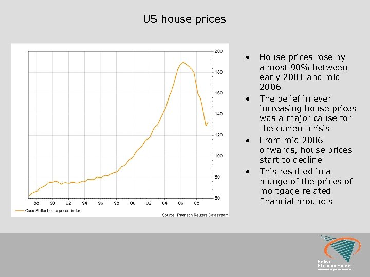 US house prices • • House prices rose by almost 90% between early 2001