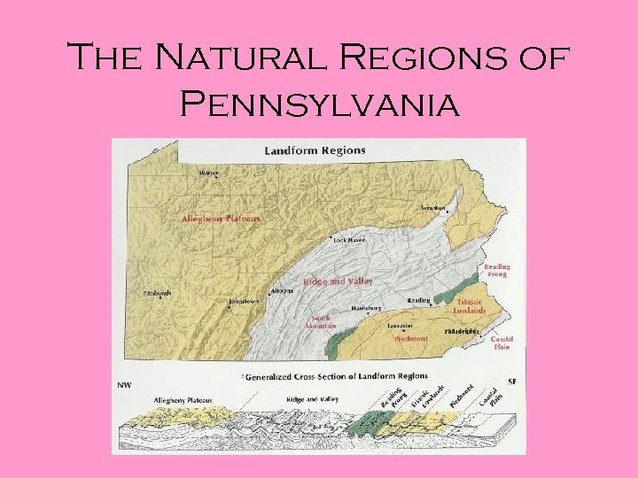The Natural Regions of Pennsylvania
