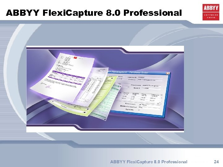 ABBYY Flexi. Capture 8. 0 Professional 24