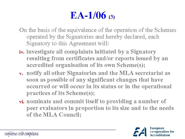 EA-1/06 (3) On the basis of the equivalence of the operation of the Schemes