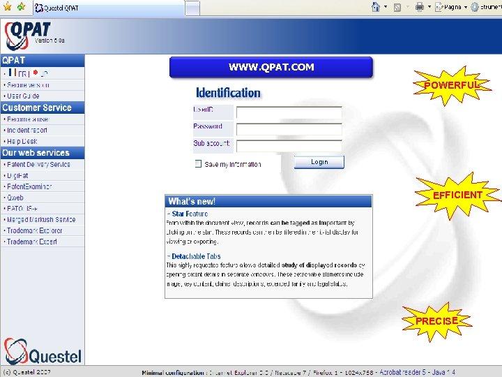 WWW. QPAT. COM POWERFUL EFFICIENT PRECISE