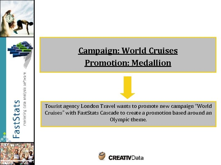 Campaign: World Cruises Promotion: Medallion Tourist agency London Travel wants to promote new campaign