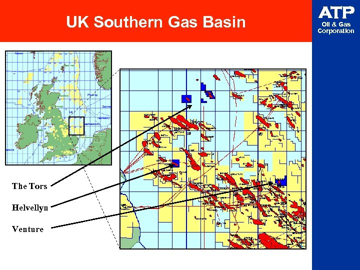 UK Southern Gas Basin The Tors Helvellyn Venture ATP Oil & Gas Corporation