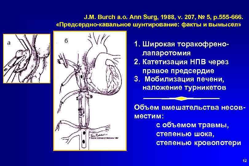 J. M. Burch a. o. Ann Surg, 1988, v. 207, № 5, p. 555