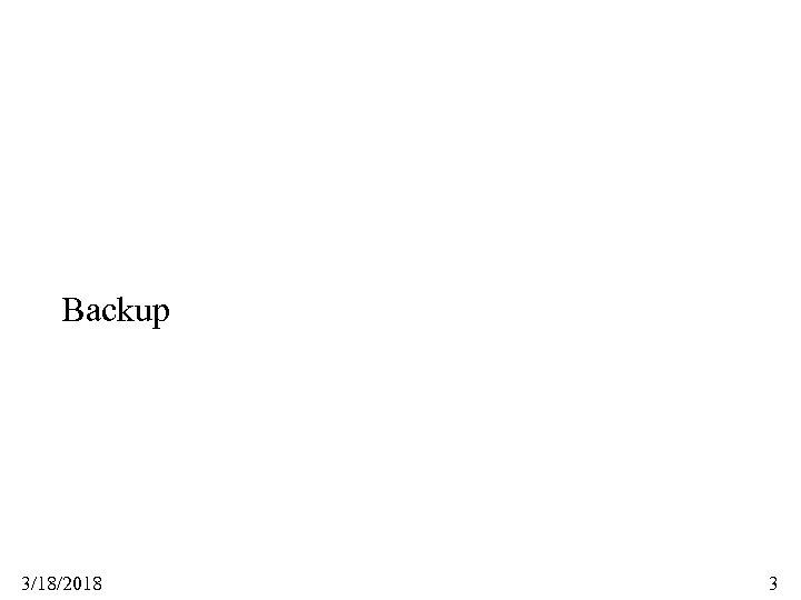 Backup 3/18/2018 3