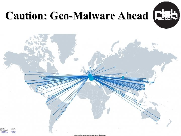 Caution: Geo-Malware Ahead
