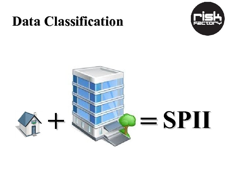 Data Classification + = SPII