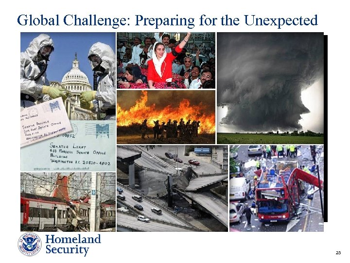 Global Challenge: Preparing for the Unexpected 23