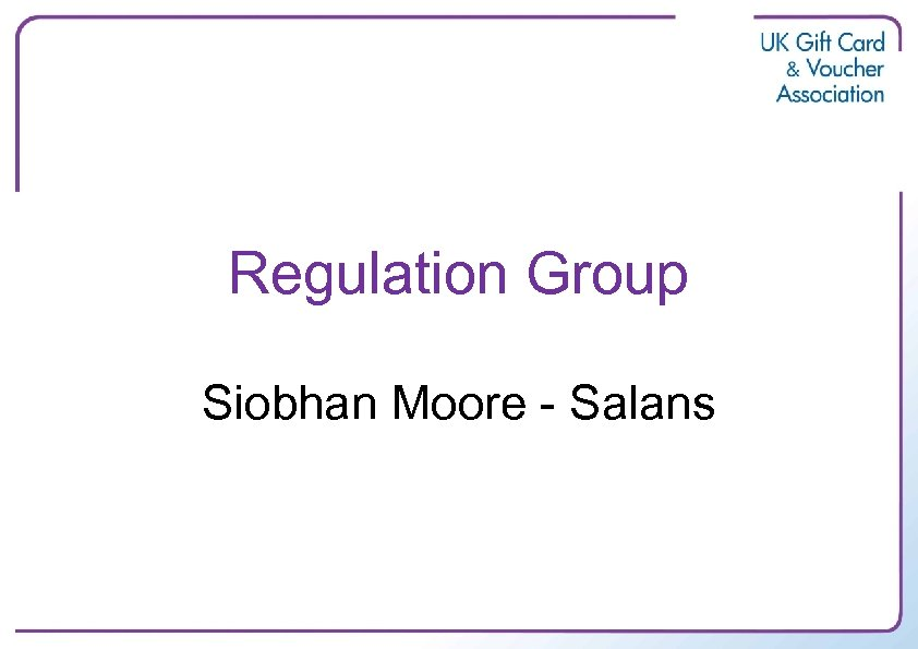 Regulation Group Siobhan Moore - Salans