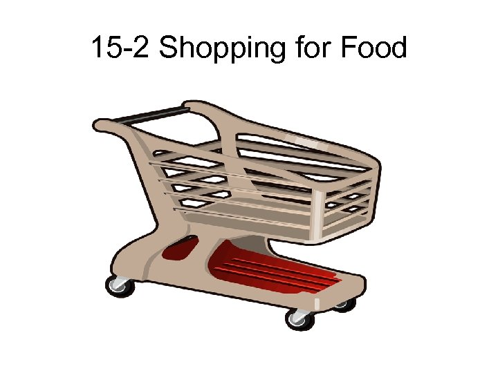 15 -2 Shopping for Food