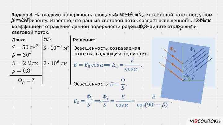 Задачи и решение на освещенность решение задач 2 класс геометрия