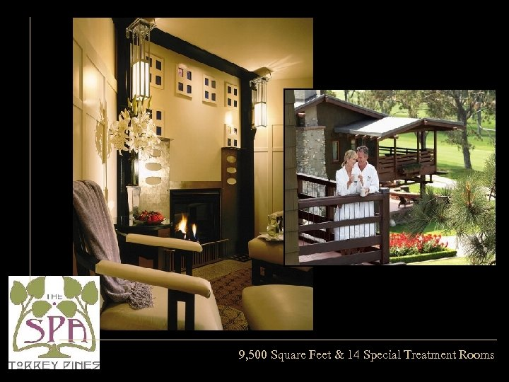 9, 500 Square Feet & 14 Special Treatment Rooms