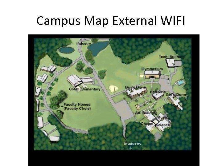 Campus Map External WIFI