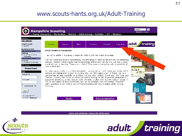 51 www. scouts-hants. org. uk/Adult-Training