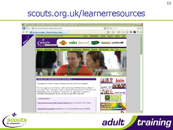 53 scouts. org. uk/learnerresources