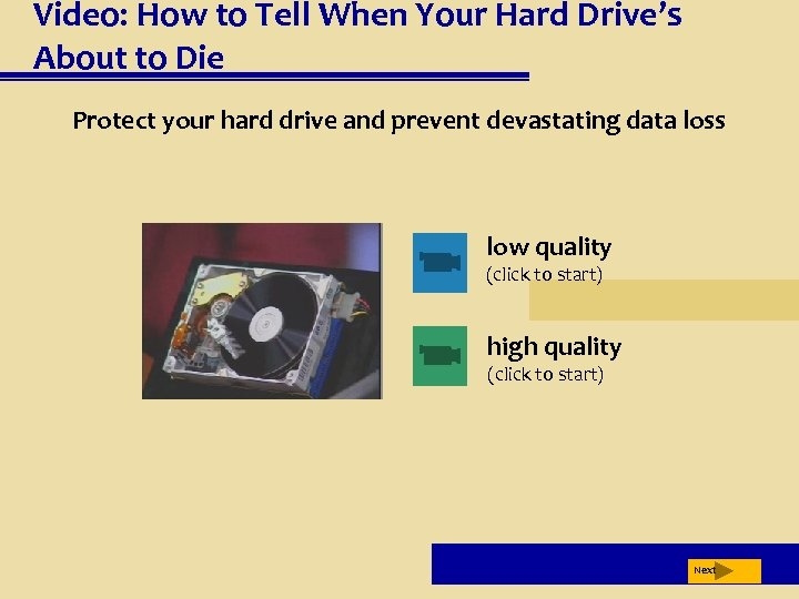 Video: How to Tell When Your Hard Drive's About to Die Protect your hard