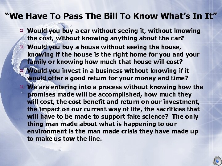 """""""We Have To Pass The Bill To Know What's In It"""" Would you buy"""