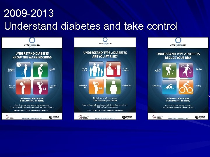 2009 -2013 Understand diabetes and take control