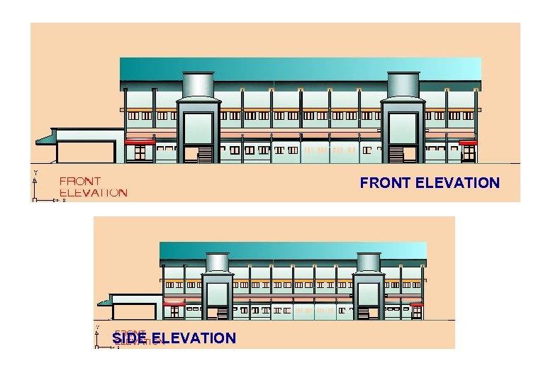 FRONT ELEVATION SIDE ELEVATION