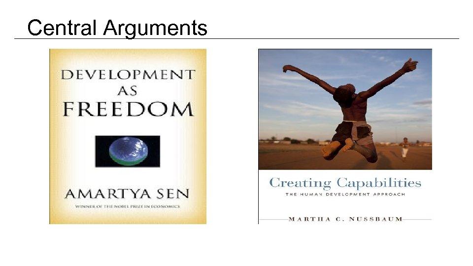 Central Arguments