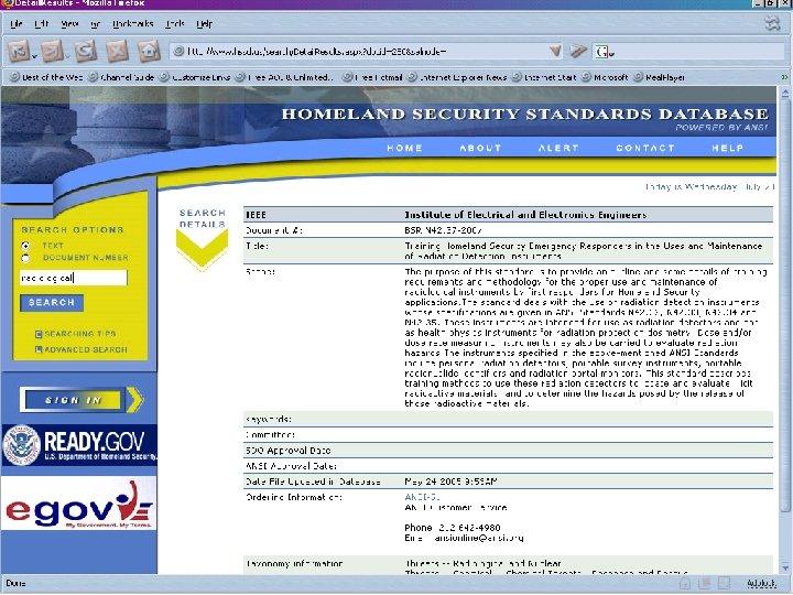 HSSP Plenary October 21, 2009 Slide 7
