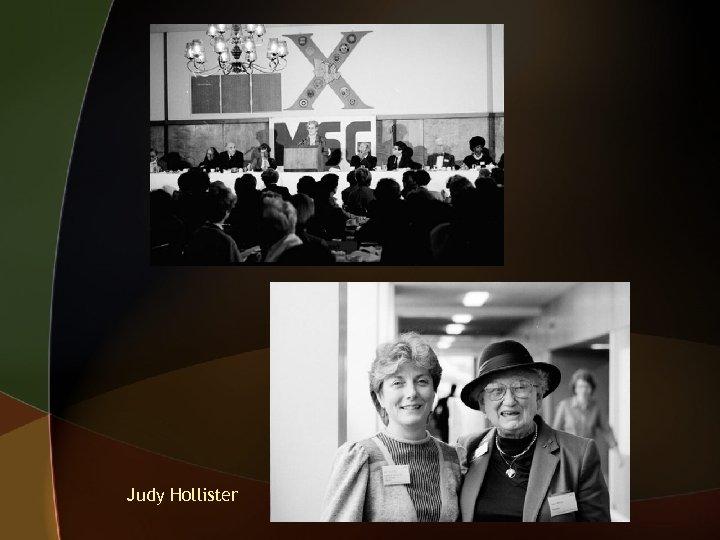 Judy Hollister