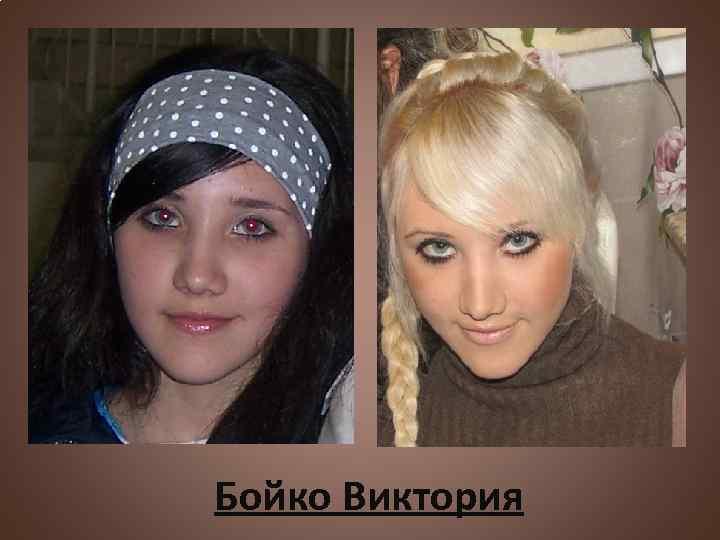 Бойко Виктория
