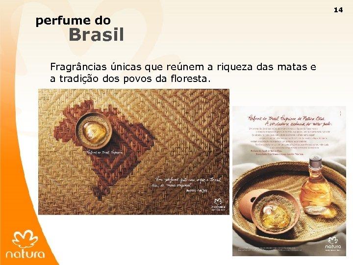 14 perfume do Brasil Fragrâncias únicas que reúnem a riqueza das matas e a