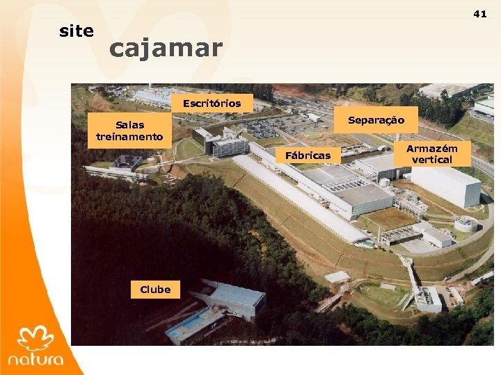 41 site cajamar Escritórios Separação Salas treinamento Fábricas Armazém vertical Clube 41