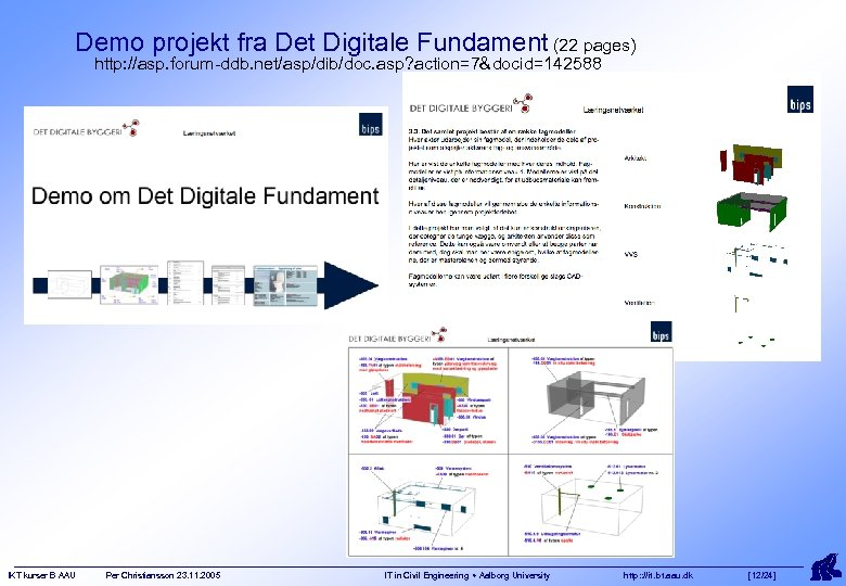 Demo projekt fra Det Digitale Fundament (22 pages) http: //asp. forum-ddb. net/asp/dib/doc. asp? action=7&docid=142588