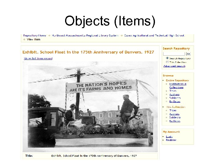 Objects (Items)