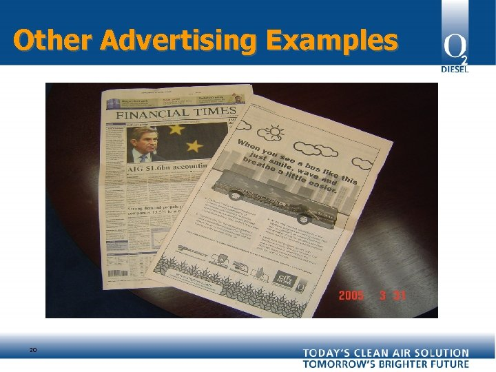 Other Advertising Examples 20