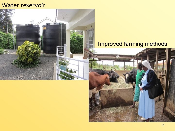 Water reservoir Improved farming methods www 35