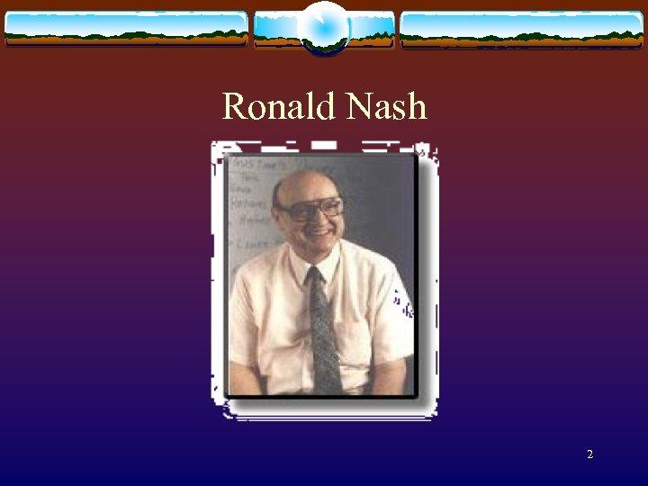Ronald Nash 2