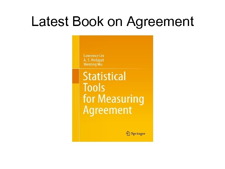 Latest Book on Agreement