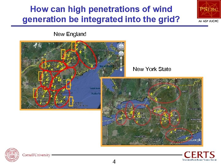 How can high penetrations of wind generation be integrated into the grid? New England
