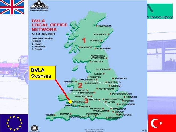 DVLA Swansea