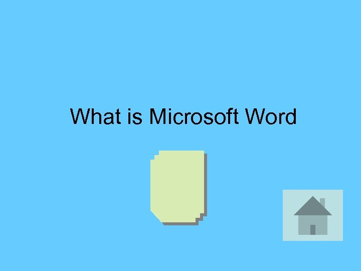What is Microsoft Word