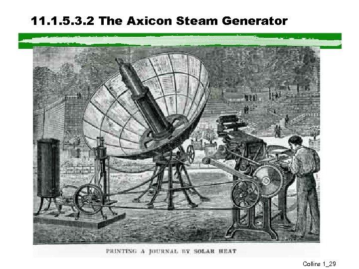11. 1. 5. 3. 2 The Axicon Steam Generator Collins 1_29