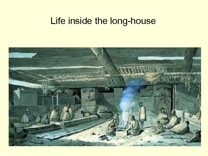 Life inside the long-house