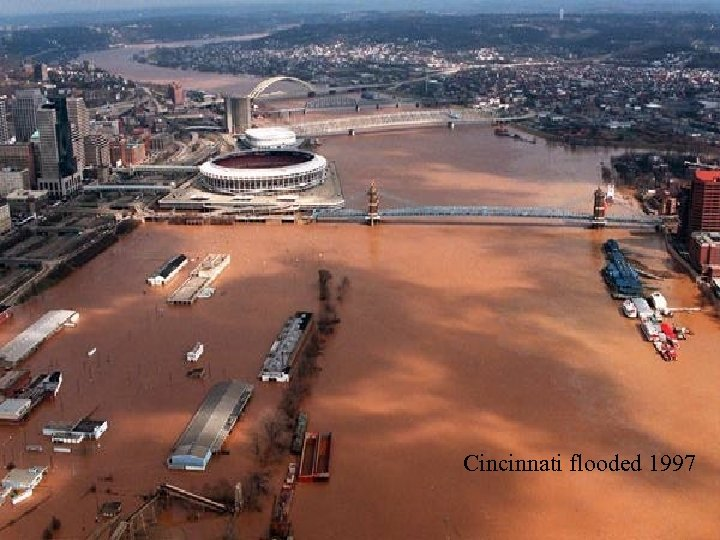 Cincinnati flooded 1997