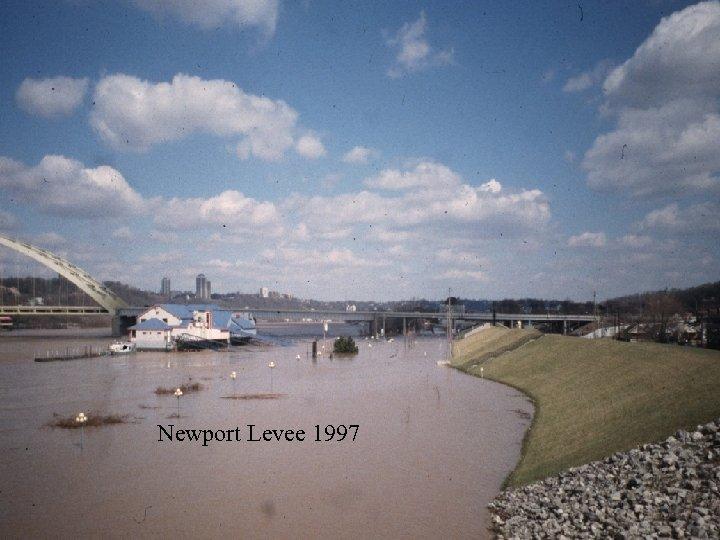Newport Levee 1997