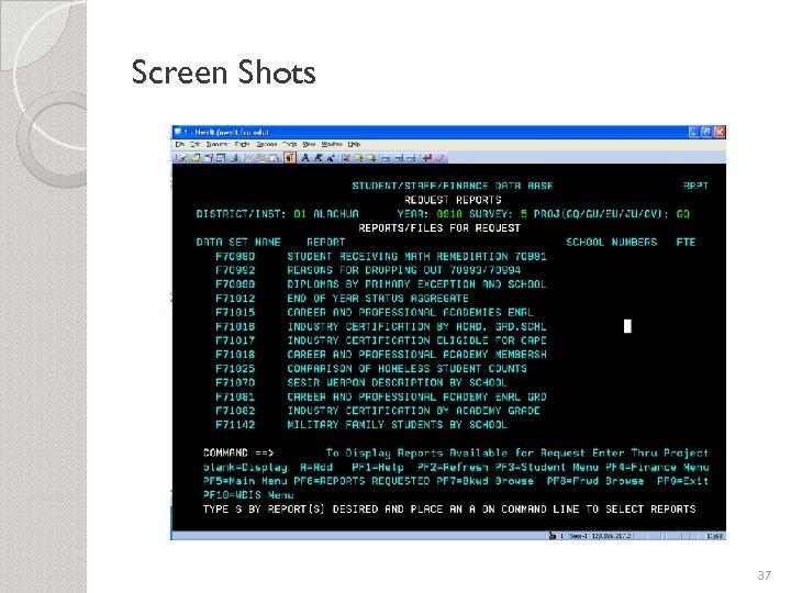 Screen Shots 37