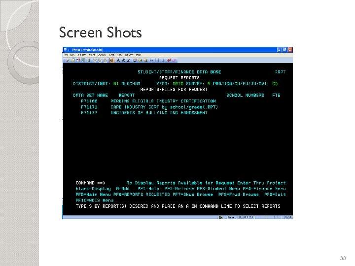 Screen Shots 38