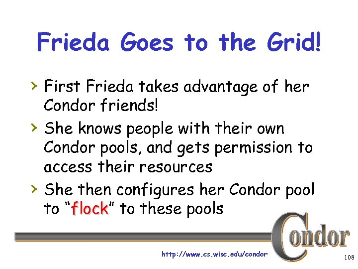 Frieda Goes to the Grid! › First Frieda takes advantage of her › ›