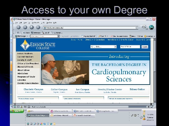 Access to your own Degree Audit