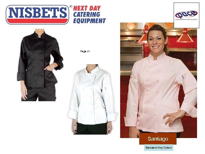 Ladies Jackets Page 21 Santiago Standard Poly Cotton
